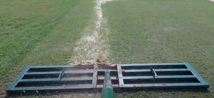 lawn leveling rake